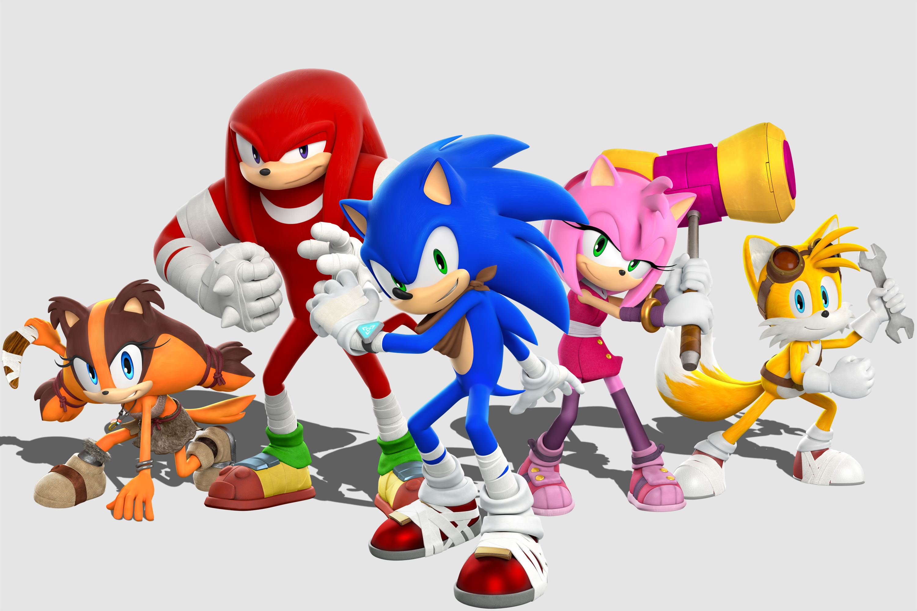 SEGA Lets Out a Sonic Boom of Gameplay, Screenshots, Art ...
