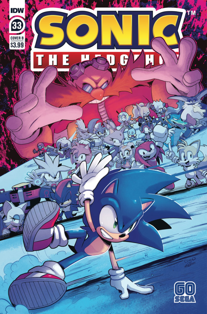 Evan Stanley Takes Over Idw Sonic Writing Duties Ian Flynn Still On Board Sonic Retro